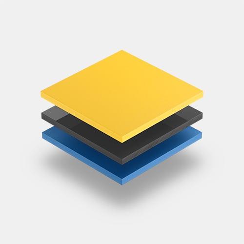 PVC platen