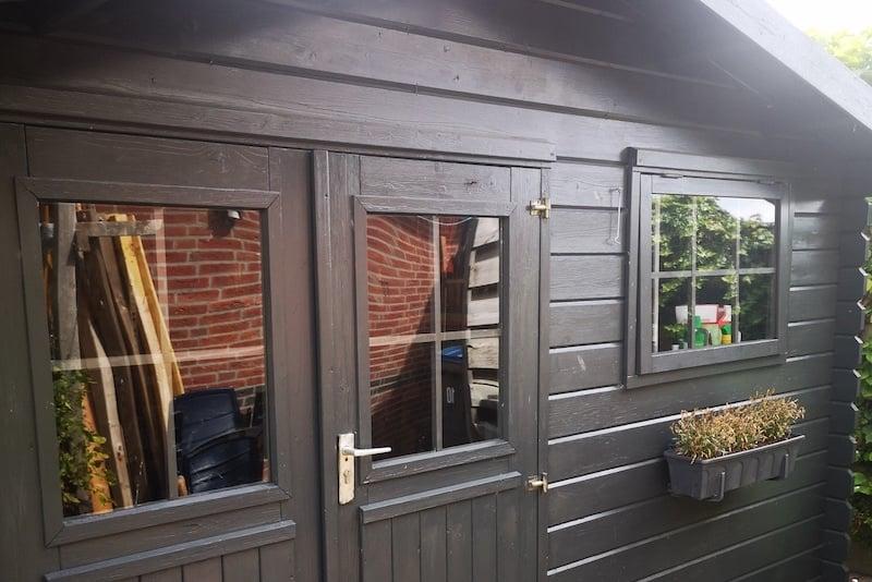 Tuin huis ramen vervangen met plexiglas
