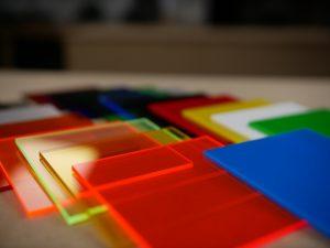 kunststof platen verschillende kleuren
