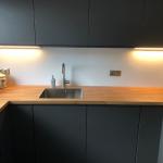 Keuken achterwand alupanel