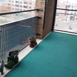 Balkonbekleding plexiglas