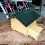 Waterdicht dak voor egelverblijf