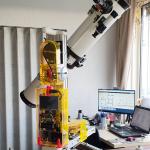 behuizing telescoop statief