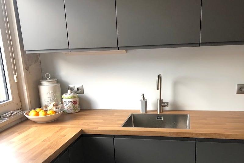 Dibond eigenschappen spatwand keuken
