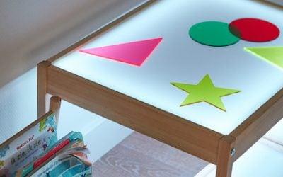 Lichttafel maken IKEA hack