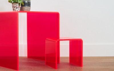 Kunststof tafeltjes maken