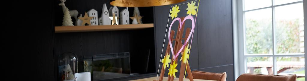 Plexiglas schildersezel maken