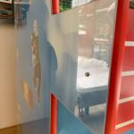 Arcadekast met plexiglas panelen