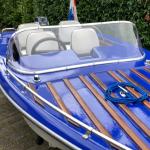 Plexiglas speedboot raam