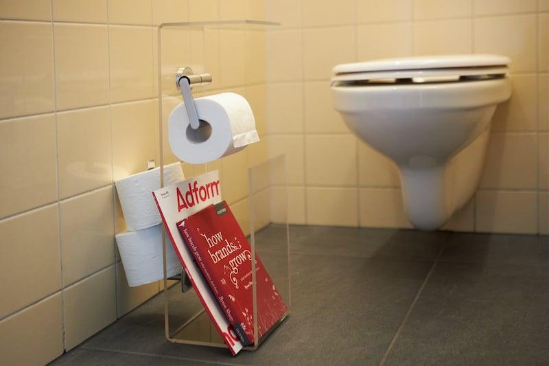 Toiletrolhouder zelf maken