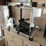 3D printer behuizing open