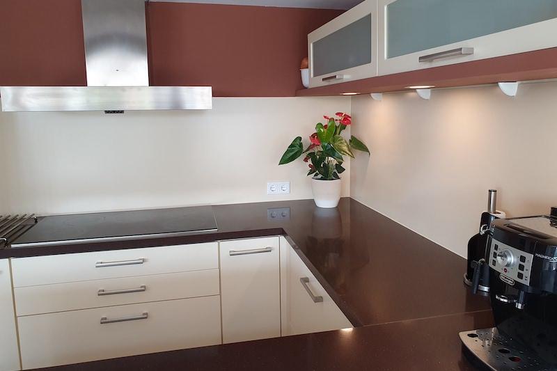 Achterwand keuken plaatsen eindresultaat