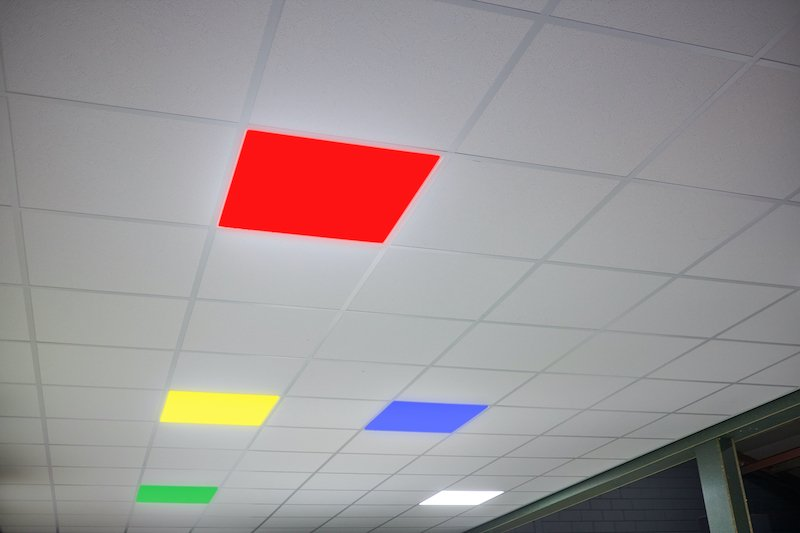 Systeemplafond pimpen plexiglas ledpanelen