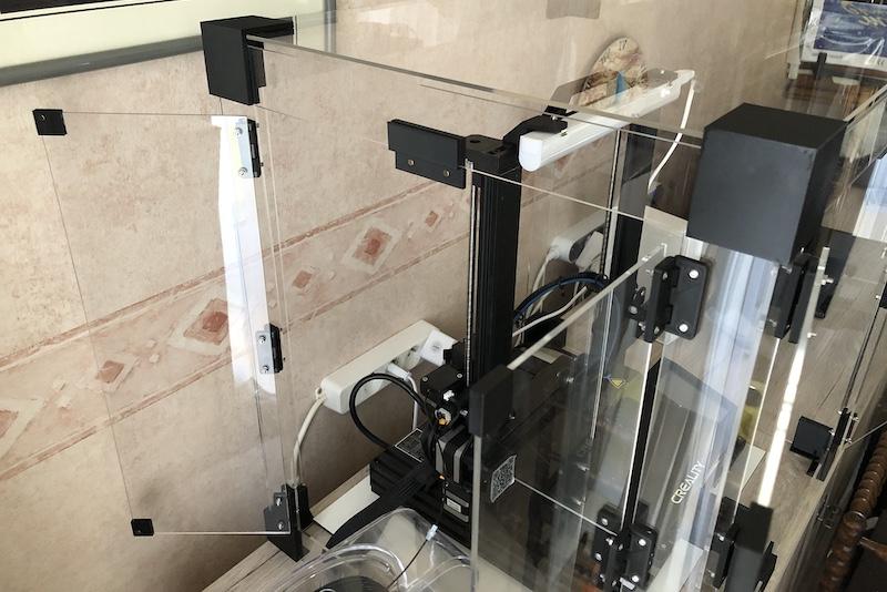 3d printer behuizing met deuren