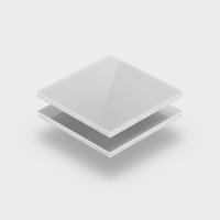 Assortiment plexiglas opaalwit