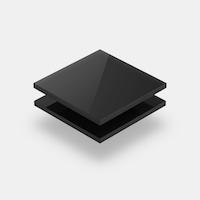 Assortiment plexiglas zwart