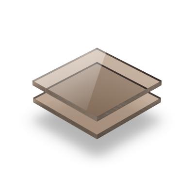 Plexiglas plaat getint bruin