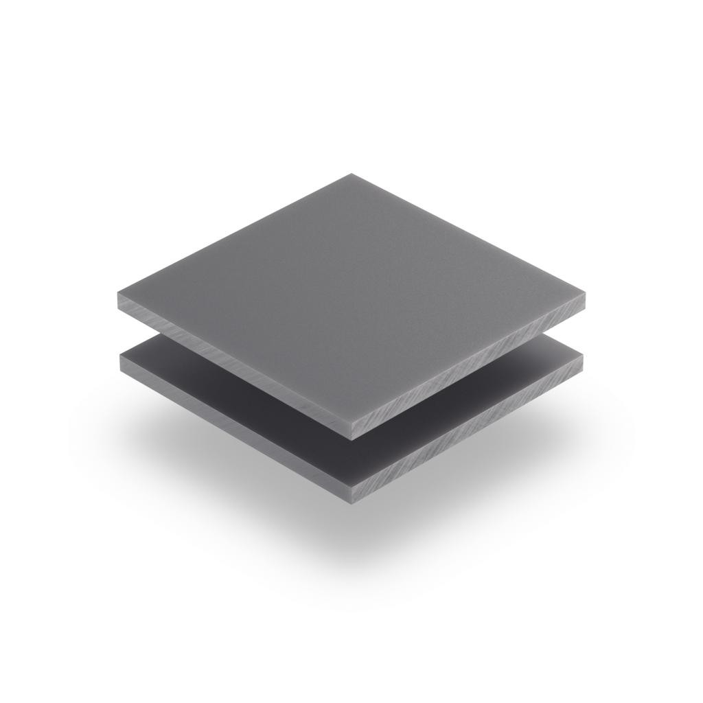Letterplaat grijs 8mm