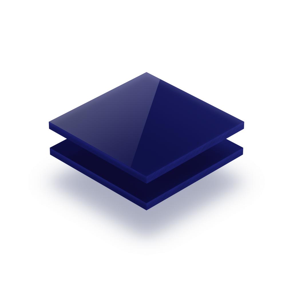 Letterplaat nachtblauw 8mm