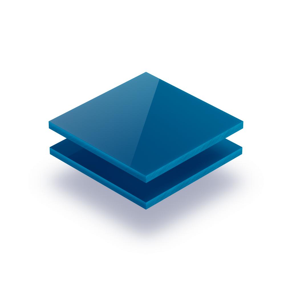 Letterplaat verkeersblauw 8mm