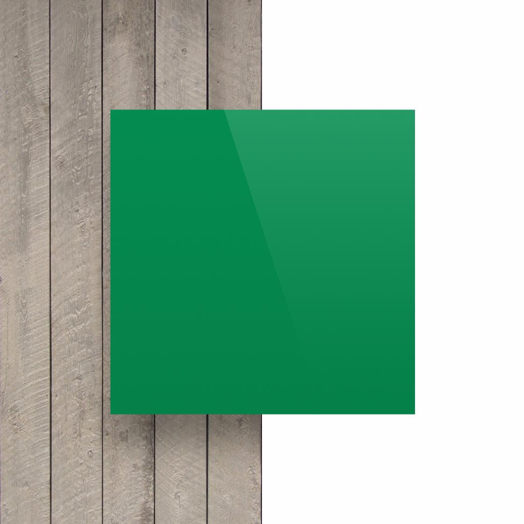 Letterplaat mintgroen voorkant