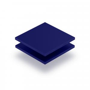 Letterplaat nachtblauw 8mm mat