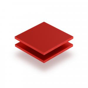 Letterplaat signaalrood 8mm mat