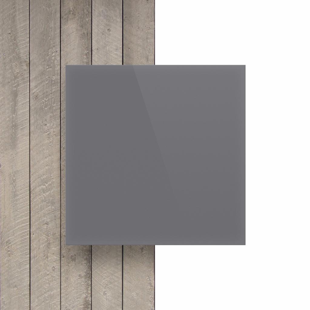 Voorkant letterplaat grijs glans