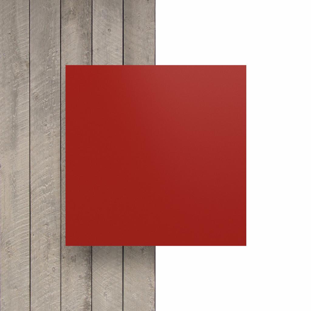 Voorkant letterplaat signaalrood mat