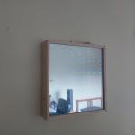 Infinity spiegel van plexiglas
