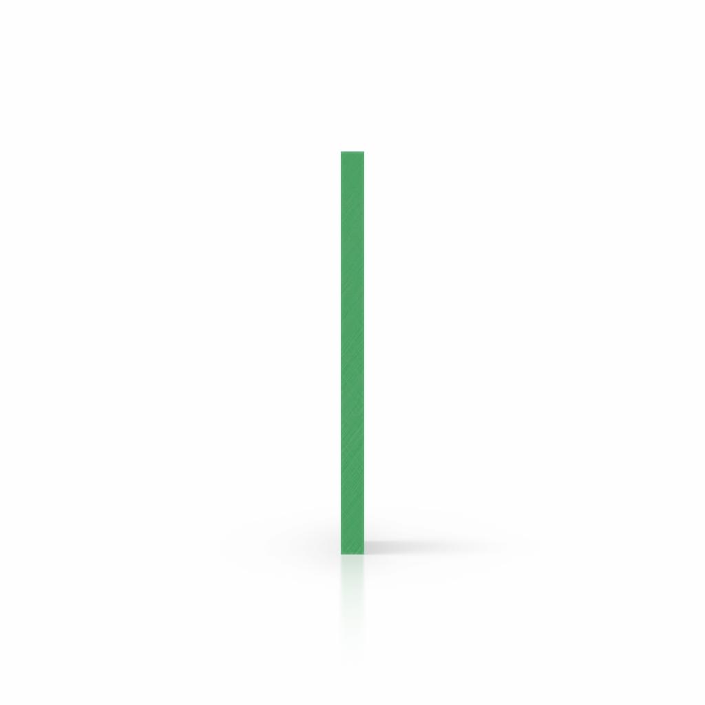 Zijkant HMPE 1000 groen