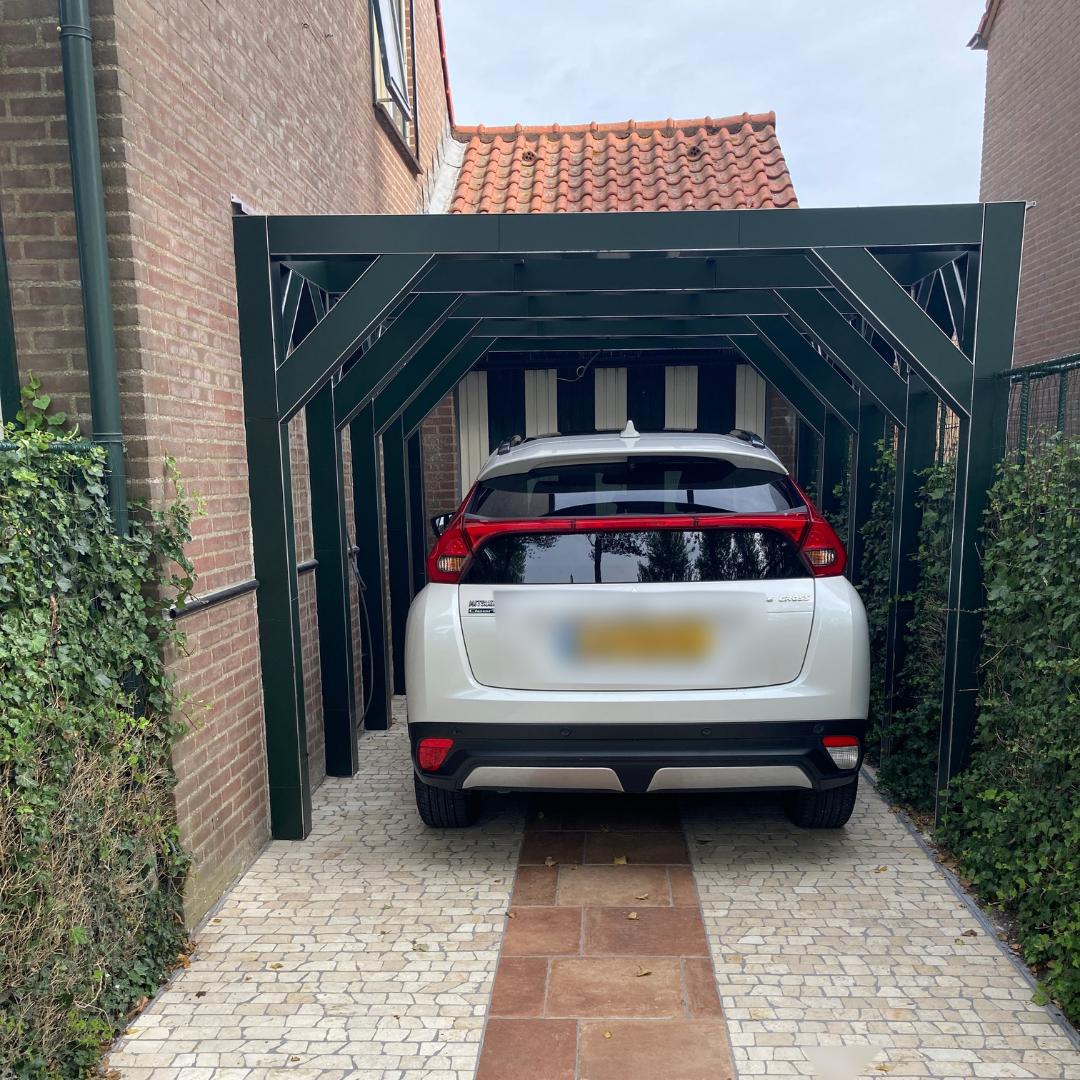 Carport van plexiglas en hpl 0